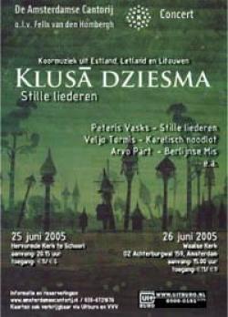 Klusa dziesma juni 2005