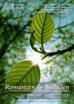 Romanzen und Balladen juni 2008