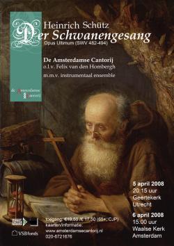 Schütz - Der Schwanengesang apr. 2008