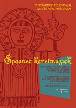 Spaanse Kerstmuziek dec. 2007