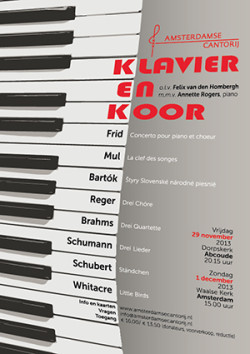 Amsterdamse Cantorij Klavier en Koor - 300px